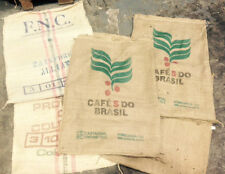 6 Coffee Sacks - Free Postage