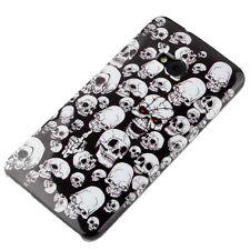 Case f HTC One M7 Schutzhülle Tasche Cover Handy Totenkopf Skull dead tot tod