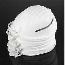 Dust Mask Disposable Cleaning Molded Face Masks Respirator Safety Non-Toxic HGUK