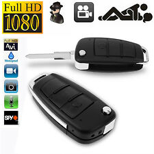 1080P Spy Camera Car Key Chain Hidden DVR Audio Recording IR Night Vision