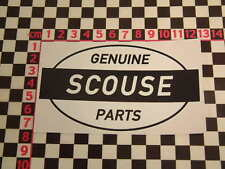 Ed Roth Style Scouse Parts Sticker - Liverpool Speke Merseyside Beatles Cilla BL