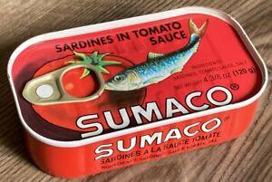 Sumaco Sardines in Tomato Sauce 4-3/8 oz 125g