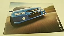 2005 HOLDEN COMMODORE  Australian Sales Brochure SV6 etc