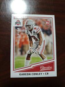 2018 Classics #236 Gareon Conley Oakland Raiders  /50 Blank Back