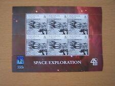TRISTAN DA CUNHA 2009 SPACE EXPLORATION 25P SHEETLET,CAT £8.40,U/M,EXCELLENT