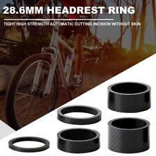 5pcs/set 28.6mm Carbon Fiber Washers MTB Bike Bicycle Headset Stem Spacers