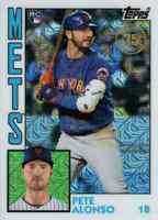 PETE ALONSO RC 2019 Topps Update Series 1984 SILVER PACK Card 84U-24  👀ROOKIE👀