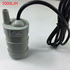 Submersible Pump Immersible Pump Under Water Aquarium Bath Pump DC 12V 1000L/H