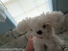 CHILDRENS PLACE PLUSH DOLL FIGURE MOLLY WHITE PUPPY DOG DEPARTMENT STORE TOY