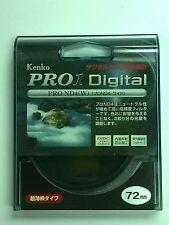 Genuine Kenko PRO1 Digital PRO ND4 (W) 72mm Filter