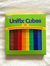 New ListingDidax Unifix Cubes New 100 Count