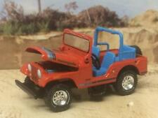 American Motors AMC 1970 - 1986 Jeep CJ-5 4X4 5 Speed 1/64 Scale Limited Edt B45
