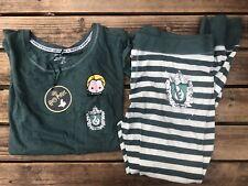Harry Potter Draco Malfoy Slytherin Emoji Ladies Pyjama Set UK Size 14-16 Large