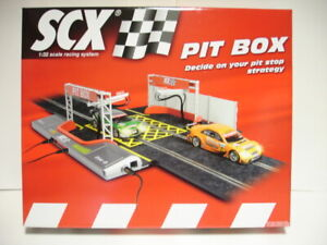 SCX Analogue 88750 PIT BOX track for slot cars 1/32 scale new sealed