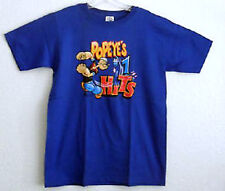 POPEYE THE SAILOR T SHIRT MEDIUM NUMBER ONE HITS NEW W/ TAGS NEVER WORN
