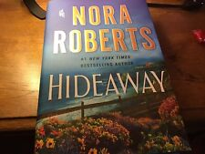 Nora Roberts First Edition Hideaway May 2020. Brand New