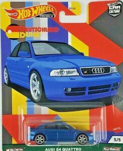 Hot Wheels Audi S4 Quattro Car Culture Deutschland Design Series 5/5