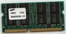 256mb di RAM DELL INSPIRON 2500 3700 400 450 500 c466 3800