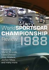 World Sportscar Championship Review 1988 (New DVD) Brundle Schlesser Cheever