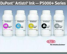 DuPont™ Artistri P5000 White + CMYK DTG Ink - 5 bottles 250 ml