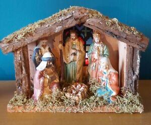 Christmas Nativity Scene Light Up Ornament