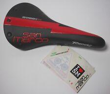 Selle San Marco Regale Carbon FX Team saddle carbon rail black red