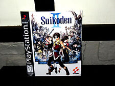Playstation One PS1 Suikoden 2 II  Box Cover Photo Wall Poster Decor