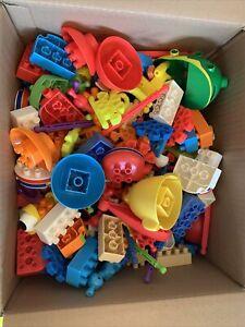 7+ lb box of Kid K'nex including Sesame Street EUC Building Toys