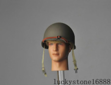 1/6 soldier model accessories World War ii US Army M1 Metal Helmet & Hat