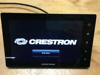 "Crestron TSW-752-B-S 7"" Touch Screen Touch Panel Display Black Smooth"