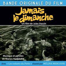 CD Jamais le dimanche - Movie Soudtrack / OST - Melina Mercouri - Jules Dassin