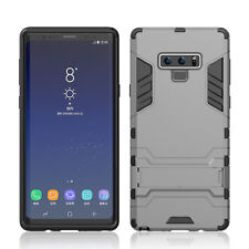 For Samsung Galaxy S9 S8 S7 S6 Case Rubber Robot Armor Shell Hard Back