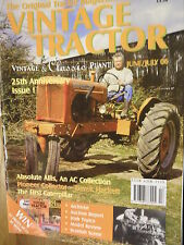 Vintage Tractor June July 06 25th Anniversary issue
