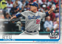 Hyun-Jin Ryu 2019 Topps Update All-Star Game US297 Los Angeles Dodgers