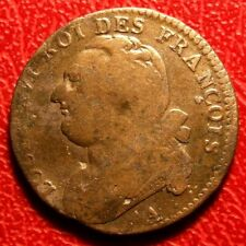 LOUIS XVI 12 deniers type FRANCOIS - 1792 A (Paris) French coin