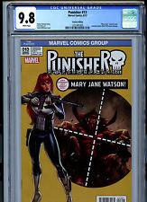 Punisher #13 (2017) Marvel CGC 9.8 White Mary Jane Variant Edition