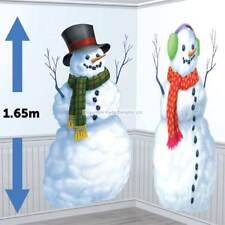 Bonhommes de Neige Fête De Noël Scène Setter/Décoration