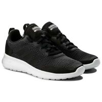 SCARPE ADIDAS DONNA ELEMENT RACE SNEAKERS SPORTIVE DB1481 NERO NUOVE ORIGINALI