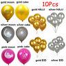 10X Happy Eid Mubarak Ramadan Foil Balloon Kareen Hajj Islamic Party Decor UK 2H