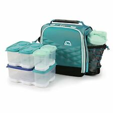 Arctic Zone Portion Control Fuel Pack Lunch Pack Teal 18 Pieces