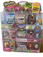 Shopkins Mini Packs Shopper Pack (16 Items)