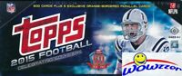 2015 Topps Football 505 Cards HOBBY Factory Set-5 Orange Parallel LE #d 75 !