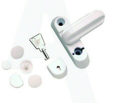 Fab And Fix Q920FF Sash Jammer Stopper with Lock for UPVC Doors & Windows