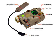 AN/PEQ-15 battery box NEW Version Upgrade Function LED white light + Green laser