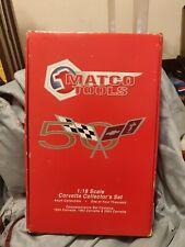 Matco Tools 1:18 50th Anniversary Corvette Collectors Set 2003