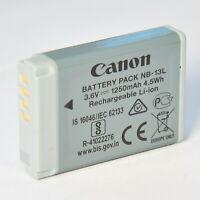 Canon NB-13L Akku PowerShot PowerShot G7X Mark II G5X G9X SX720 SX620 HS
