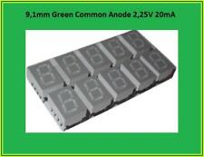HDSP-C3G1 LED Display Anzeige 7 Segment 1Digit Common Anode Grün 10x