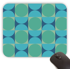 Retro Groovy Mid Century Pattern Value Mouse Pad