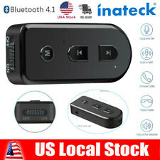 Wireless Bluetooth Receiver Adapter 3.5mm Stereo for Home/Car Audio Music Sound