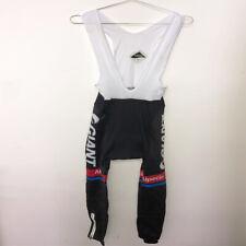 Men Thermal Fleece Cycling BIB Pants Cycling Trousers Tight Padded Bike Tights
